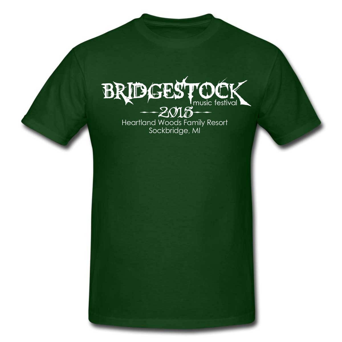 Bridgestock18 Green & White